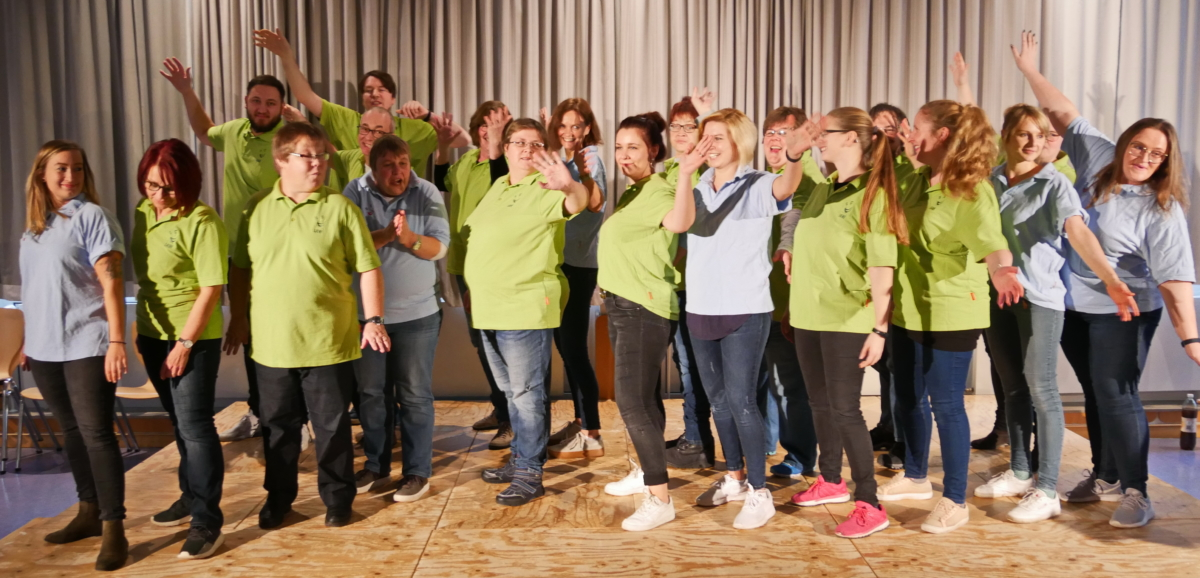 Das war: Improtheater! Erfolgreiche Show der IAW und der HPTZ 2 am 1. Advent in der Aula der EFS