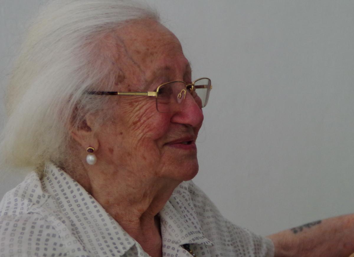 Erna de Vries – eine beeindruckende Zeitzeugin zu Besuch in den EFS