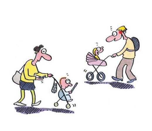 """Renate Alf – eine """"treffende"""" Cartoonistin zu Besuch in den Ev. Fachschulen"""