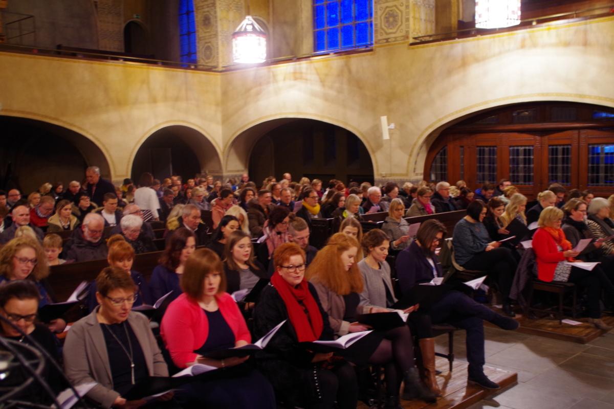 25.01.19: Examensfeier FSP TZ4 und HP TZ3 in der Lutherkirche