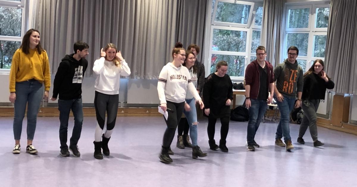 Tanz- und Theaterprojekttag der Unterstufen