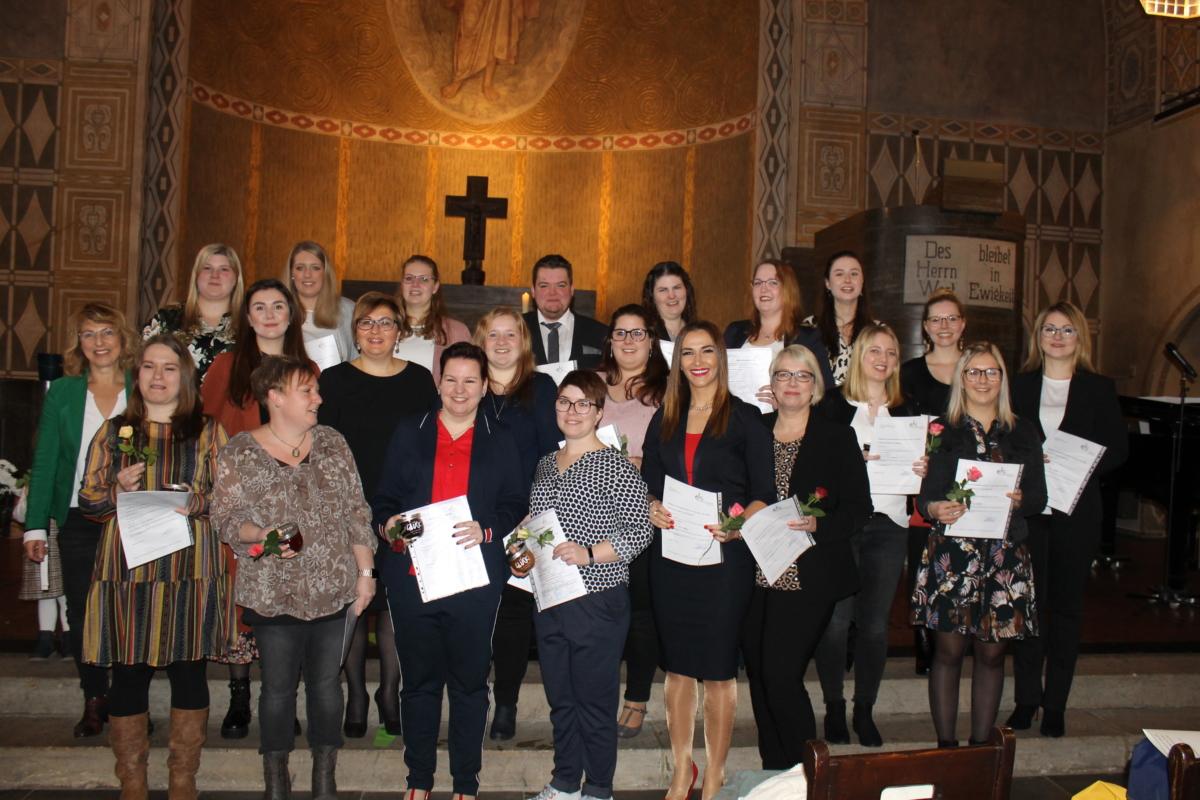 Die TZ 4 feiert Examen in der Lutherkirche am 18.01.2020 – Herzliche Glückwünsche!