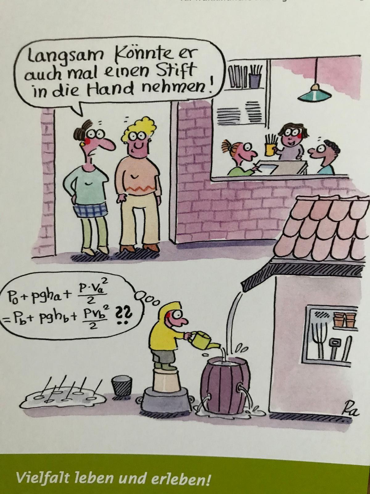 Renate Alf – Cartoonistin – zu Besuch in den EFS