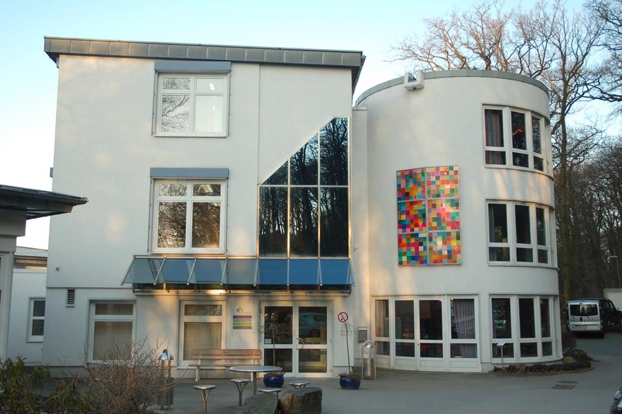 Eingangsbereich der Evangelischen Fachschulen Osnabrück